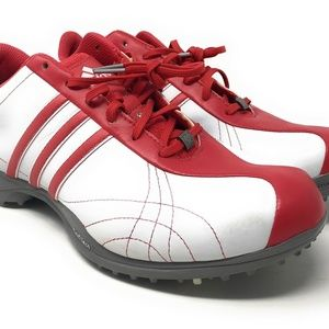 Adidas Golf Cleats Shoes Womens Size 9 M White Fit